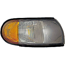 1630841 Front, Passenger Side Turn Signal Light, Without bulb(s)