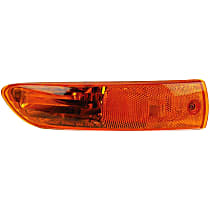 Passenger Side Parking Light, With bulb(s)