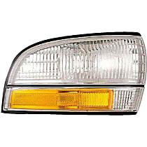 1650049 Front, Passenger Side Side Marker, Without bulb(s)