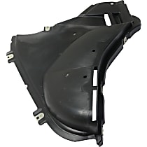 Fender Liner - Front, Passenger Side, Front Section, without M Package