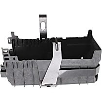 Replacement Battery Tray - Battery Tray - Black, Plastic - Direct Fit