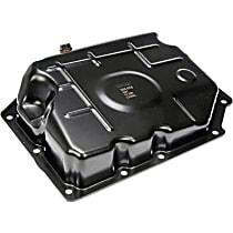 Dorman 265-818 Transmission Pan - Black, Steel, Stock Depth, Direct Fit, Sold individually