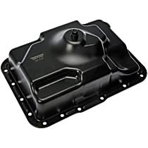 Dorman 265-831 Transmission Pan - Black, Steel, Stock Depth, Direct Fit, Sold individually