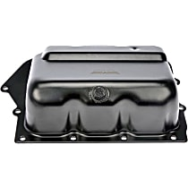 Dorman 265-833 Transmission Pan - Black, Steel, Stock Depth, Direct Fit, Sold individually