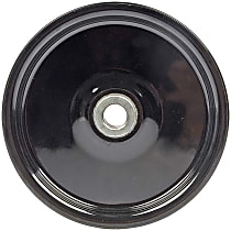 Dorman 300-015 Power Steering Pump Pulley - Black, Metal, Direct Fit, Sold individually