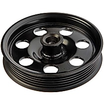 Dorman 300-027 Power Steering Pump Pulley - Black, Plastic, Direct Fit, Sold individually