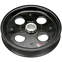 Dorman 300-116 Power Steering Pump Pulley - Black, Plastic, Molded, Direct Fit, Sold individually