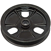 Dorman 300-304 Power Steering Pump Pulley - Black, Plastic, Direct Fit, Sold individually