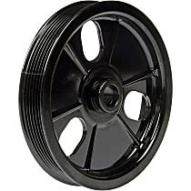 Dorman 300-308 Power Steering Pump Pulley - Black, Metal, Direct Fit, Sold individually