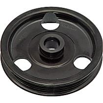 Dorman 300-311 Power Steering Pump Pulley - Black, Metal, Direct Fit, Sold individually