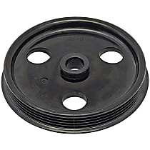 Dorman 300-312 Power Steering Pump Pulley - Black, Plastic, Direct Fit, Sold individually