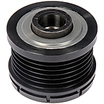 300-854 Alternator Pulley - Serpentine, Direct Fit, Sold individually