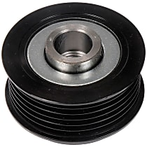 300-857 Alternator Pulley - Serpentine, Direct Fit, Sold individually