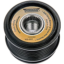 Dorman 300-861 Alternator Pulley - Serpentine, Direct Fit, Sold individually