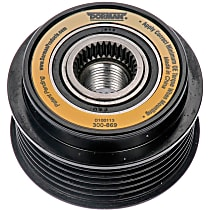 300-869 Alternator Pulley - Serpentine, Direct Fit, Sold individually
