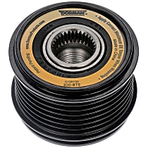 300-875 Alternator Pulley - Serpentine, Direct Fit, Sold individually
