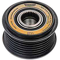 300-877 Alternator Pulley - Serpentine, Direct Fit, Sold individually