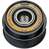 300-880 Alternator Pulley - Serpentine, Direct Fit, Sold individually