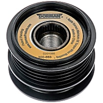 300-883 Alternator Pulley - Serpentine, Direct Fit, Sold individually