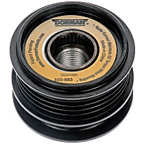 Dorman 300-883 Alternator Pulley - Serpentine, Direct Fit, Sold individually
