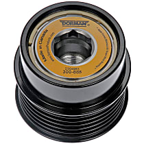 Alternator Pulley - Serpentine, Direct Fit, Sold individually