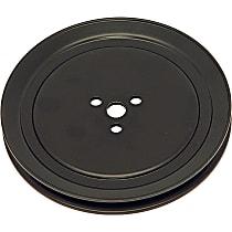 Air Pump Pulley - Black, Steel, Direct Fit