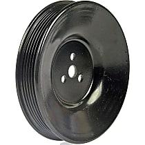 Dorman 300-921 Power Steering Pump Pulley - Black, Metal, Direct Fit, Sold individually