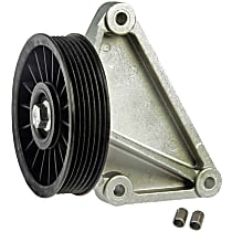 34159 A/C Compressor By-Pass Pulley - Direct Fit