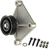 34161 A/C Compressor By-Pass Pulley - Direct Fit