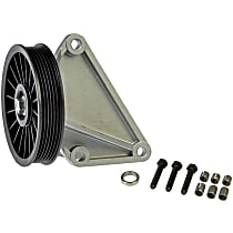 Dorman 34166 A/C Compressor By-Pass Pulley - Direct Fit