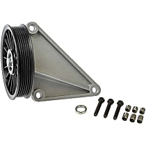 34173 A/C Compressor By-Pass Pulley - Direct Fit