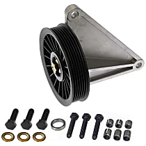 34174 A/C Compressor By-Pass Pulley - Direct Fit