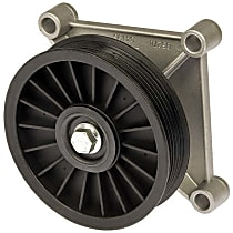 34195 A/C Compressor By-Pass Pulley - Direct Fit