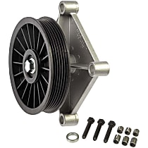 34196 A/C Compressor By-Pass Pulley - Direct Fit