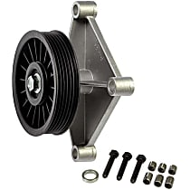 34197 A/C Compressor By-Pass Pulley - Direct Fit