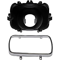 Light Mount - Black, Direct Fit