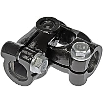 425-367 Steering Coupling - Black, Steel, Direct Fit