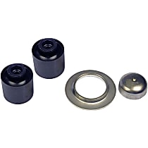 Trailing Arm Bushing - Rubber, Direct Fit, Set of 2