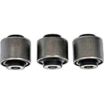 Steering Knuckle Bushing - Rubber and steel, Direct Fit, Set of 3