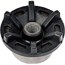 523-220 Strut Mount Bushing - Black, Rubber and steel, Direct Fit, Sold individually