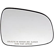 56813 Passenger Side Heated Mirror Glass