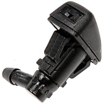 Dorman 58139 Washer Nozzle - Black, Direct Fit, Sold individually