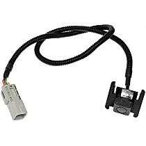590-097 Back Up Camera - Plastic, Direct Fit