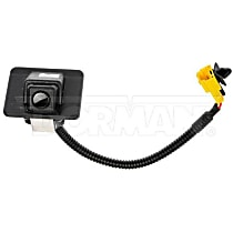 590-099 Back Up Camera - Plastic, Direct Fit