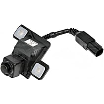 Back Up Camera - Plastic, Direct Fit