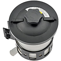 Dorman 603-5106 Power Steering Reservoir - Black and White, Direct Fit, Sold individually