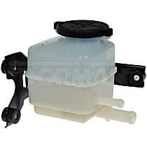 Power Steering Reservoir - Gray and white, Direct Fit, Sold individually