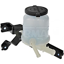 Dorman 603-673 Power Steering Reservoir - Gray and white, Direct Fit, Sold individually