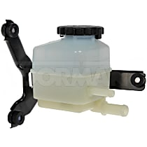 Dorman 603-675 Power Steering Reservoir - Gray and white, Direct Fit, Sold individually