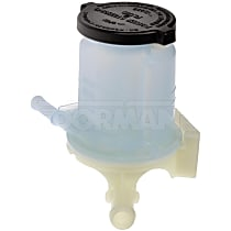 Dorman 603-682 Power Steering Reservoir - Gray and white, Direct Fit, Sold individually